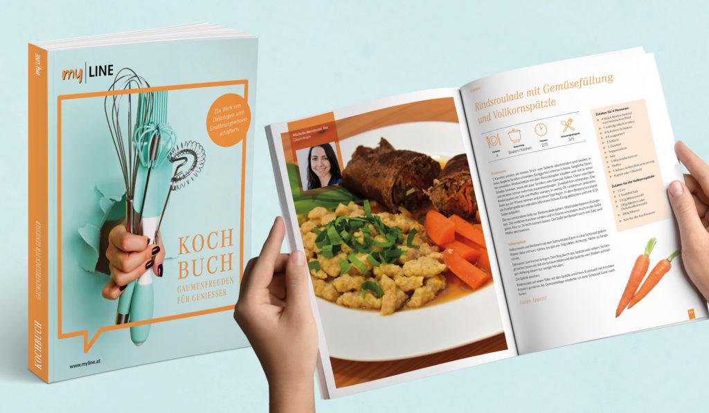 Kochbuch mit Rezept
